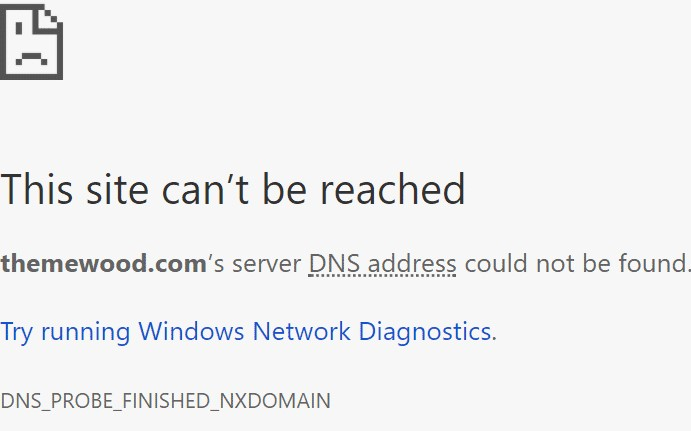 DNS_PROBE_FINISHED_NXDOMAIN, now what to do?