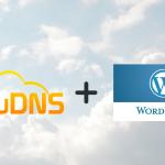 ClouDNS plus Wordpress